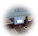 Construção robusta adequada para o meio ferroviário