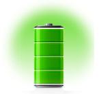 Bateria com excecional Vida útil