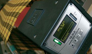 Detetor de metais para Industria Têxtil